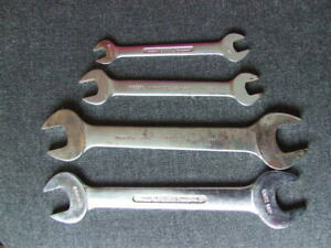4 Britool Whitworth Open Ended Spanners