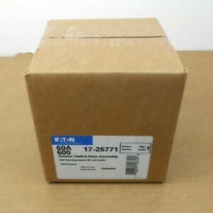 Nib Eaton 17 25771 1725771 Generic Switch Base Assembly 60a 60 Amp 600v 8 Aval