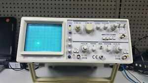 Ez Os 5060a Analog Oscilloscope 2 Channel Dual Trace 60mhz