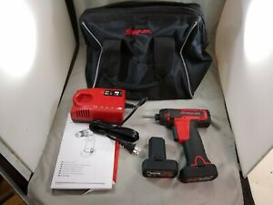 Snap On 14 4v Microlithium Micro Lithium Cordless Screwdriver Kit Cts761a Used