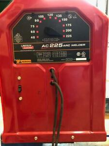 Lincoln Electric Ac dc 225 125 Arc Welder