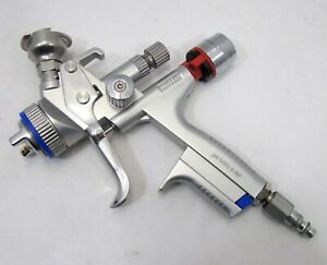Sata Jet 5000 B Rp Paint Spray Gun W Digital Adam 2 Pressure Gauge 1 4