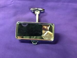 Vintage Wingard Interior Mirror Jaguar Xke Mg Tr4 Rear View Mirror England