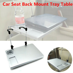 1pcs Car Suv Seat Back Tray Table Laptop Notebook Desk Food Drink Cup Holder Kit