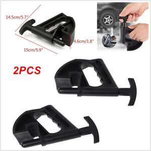 2pcs Tire Changer Bead Clamp Manual Portable Hand Tire Mounting Breaker Durable