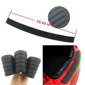Parts Rubber Sheet Car Rear Guard Bumper 4d Stickers Panel Protector Accessories