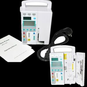 Infusion Pump Iv Fluid Equipment Voice Alarm Lcd Monitor Kvo Purge Transfusion
