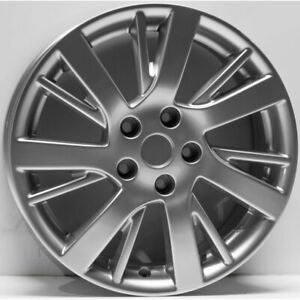 Autowheels Wheel 17 Inch Diameter New For Nissan Sentra 2013 2016 Aly62601u20n