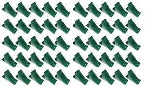 Green Plastic Mini Roof Snow And Ice Guard 100 Pack Stop Sliding Snow Buildup