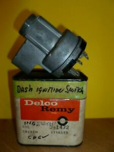 Nos Dash Ignition Switch Delco Remy 1116675 D 1472