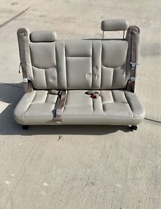 2000 2006 Suburban Yukon Xl 3rd Third Row Bench Seat Escalade Esv Denali Xl Tan