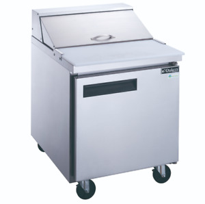 29 1 Door Refrigerated Sandwich Salad Prep Table Nsf Dukers Dsp29 8s1 New 2197