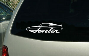 1971 1972 Amc Javelin Muscle Car Sticker Decal Wall Graphic