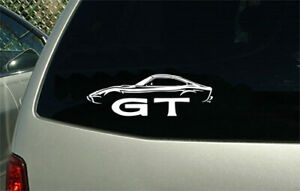 Opel Gt Sport Car Sticker Decal Wall Graphic