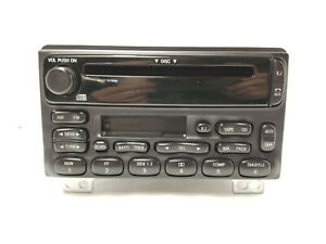 02 03 04 05 Ford Mustang Mountaineer Radio Cd Cassette Player 3l2t 18c868 Dc