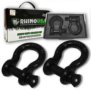Rhino Usa 3 4 D ring Shackle Set