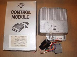 Nors 1979 82 Mercury Ford 4 Cylinder Ignition Control Module White Grommet Dy250
