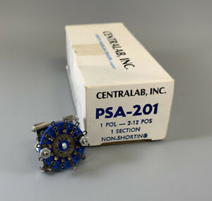 Centralab Psa 201 Rotary Switch 1 Pol 2 12 Pos Non shorting