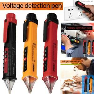 Ac dc Non contact Lcd Electric Test Pen Voltage Digital Detector Tester 12 1000v
