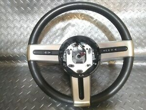05 09 Oem Genuine Ford Mustang Leather Steering Wheel With Cruise Control