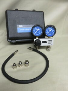 Dual 2 1 2 Gauges Cylinder Leakage Down Tester Kit Otc 5609 Leakdown Tester