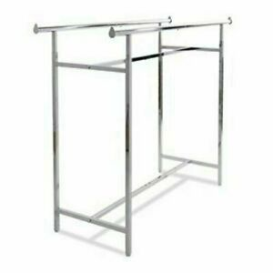 Econoco Double Bar H Clothing Racks k40 Euc 10 Available Local Pickup Only