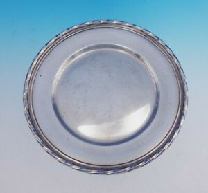 Silver Flutes By Towle Sterling Silver Dessert Plate 53520 6 Diameter 3403