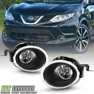For 2017 2018 Rogue Sport Bumper Fog Lights Driving Lamps Kit Left right