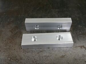 3 Inch Milling Mill Vise Aluminum Soft Jaws Shars Grizzly Harbor Freight