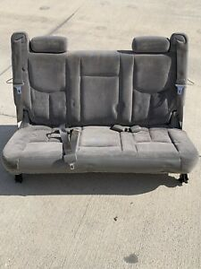 2000 06 Suburban Yukon Xl 3rd Third Row Bench Seat Escalade Esv Denali Xl Cloth
