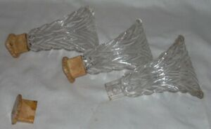 Antique Glass Curtain Tie Backs Holders 3