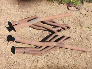 1965 1970 Ford 289 302 Dual Exhaust Used Headers Non Headman Solid Restore