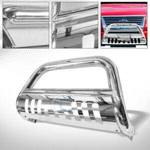 Fit 06 10 Ford Explorer Sport Trac Chrome Bull Bar Brush Bumper Grille Guard Frc