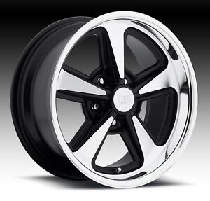 Cpp Us Mags U109 Bandit Wheels 17x8 17x9 Fits Chevy Impala Chevelle Ss