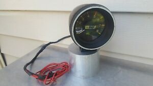 Vintage Stewart Warner Stage 1 8000 Rpm Electric Tachometer 823850 Made In Usa