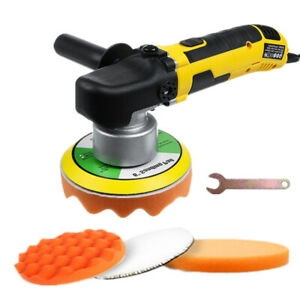 Electric Dual Action Car Polisher Buffer Sander Variable 6 Speed Waxing Machine