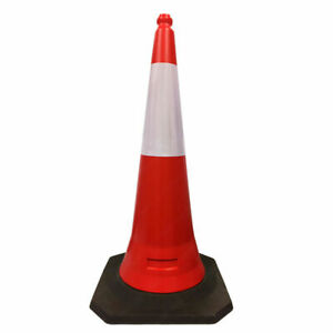 2 piece Design Traffic Safety Cones 19 To 39 Height Options Reflective