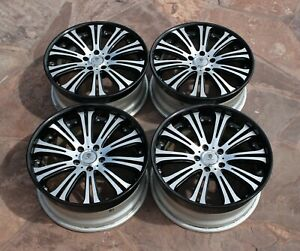 Jdm 3piece Riverside Trafficstar Sfr 19 Inch Wheels Set Bbk Orden Bugel Lxz