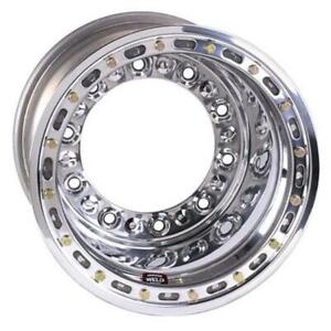 Weld Wide 5 Hs Wheel With Outer Beadlock 15 X 14 4 Inch Backspace