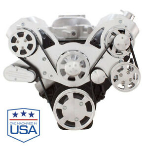 Big Block Chevy Serpentine System All Inclusive Kit Bbc 396 427 454 Billet