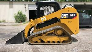 2013 Caterpillar 279d Cat Track Skid Steer 2907hrs Bobcat Gehl