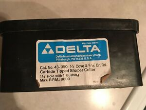 Delta Rockwell 43 050 1 2 Cove And 5 16 Quarter Round Shaper Cutter