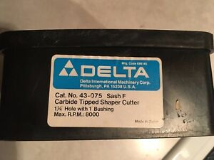 Delta Rockwell 43 075 Sash F Carbide Tipped Shaper Cutter