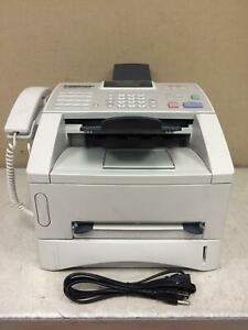 Brother Intellifax 4100e Laser Fax Machine And Copier W toner power Cord Working