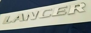 Lancer Badge For Mitsubishi Back Rear Trunk Name Letters Emblem Nameplate 203698