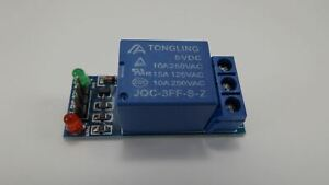 Relay Module Board Shield 5v Input One 1 Channel For 5v Input Avr Arduino Us