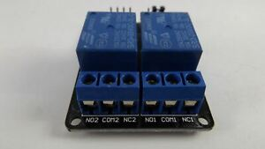 Two Channel Relay Arduino Pic Arm Dsp Avr 5v 2 Module With Optocoupler 1pc