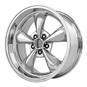 Ford Mustang Bullitt Style Wheel 17x8 30 Chrome 5x114 3 5x4 5 Qty 4