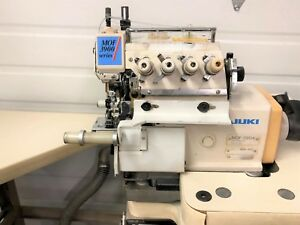Juki Mof 3904 Front Top Feed Cylinder Serger 110vxtras Industrial Sewing Machine