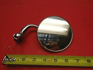 Vintage Side View Mirror Window Fender Channel Mount 4 Hot Rod Rat Rod Chevy